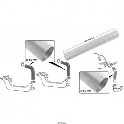 Kachel slang aluminium